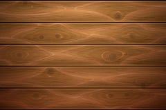 Vector realistische houten houttextuur als achtergrond Royalty-vrije Stock Fotografie