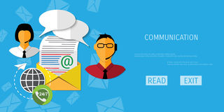 Vector receive mail web icon. stock illustration