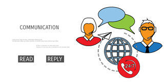 Vector receive mail web icon. vector illustration