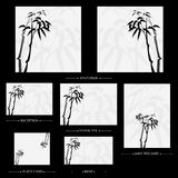 Vector reception cards set… Stock Images