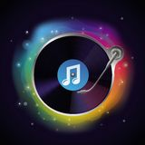 Vector record icon Royalty Free Stock Image