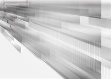Vector rectangular shape and straight line gray, geometric overlap modern design abstract background vector illustration