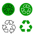 Vector - Recycle royalty free stock photo