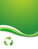 Vector recycle sign Stock Image