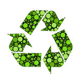 Vector recycle signs Royalty Free Stock Image