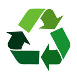 Vector recycle signs Stock Image