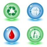 Vector recycle symbols Stock Photo