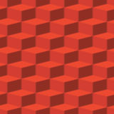 Vector red abstract texture - boxes Stock Image