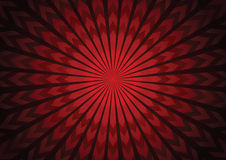 Vector red arrow starburst abstract background Royalty Free Stock Photo
