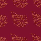 Autumn floral background Royalty Free Illustration