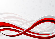 Vector red background Royalty Free Stock Photo