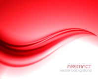 Vector red background Royalty Free Stock Image