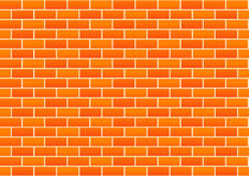 Vector Red Brick Wall Background Royalty Free Stock Photos