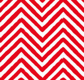 Vector Red Chevron Seamless Pattern Royalty Free Stock Photos