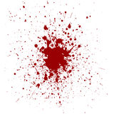 Vector red color splatter background. illustration  Royalty Free Stock Image