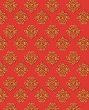 Vector Red Gold Background Royalty Free Stock Photo