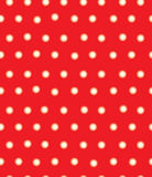 Vector red polka dots seamless pattern. Stock Image