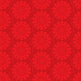 Vector red seamless background. ornamental pattern Royalty Free Stock Image