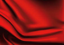 Vector of Red silk background Stock Images