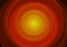Vector red spiral background. Vector red orange yellow spiral background Stock Photo