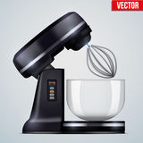 Vector Red Stand Mixer Stock Photo