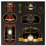 Vector reeks etiketten Royalty-vrije Stock Afbeelding