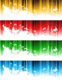 Vector reeks kleurrijke banners Royalty-vrije Stock Afbeelding