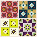 Vector reeks patronen Stock Foto's