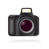 Vector reflex camera Stock Images