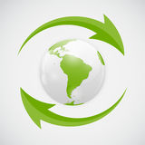 Vector Refresh Icon Illustration Royalty Free Stock Photography