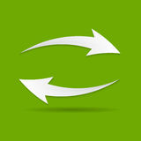 Vector Refresh Icon Illustration Stock Photography