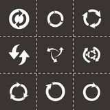 Vector refresh icons set Stock Photography