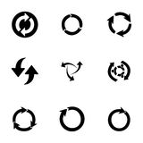 Vector refresh icons set Stock Images