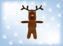 Vector - reindeer Royalty Free Stock Image