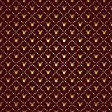 Vector Reindeer pattern Royalty Free Stock Photo
