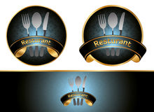 Vector. Restaurant branding design Stock Photos
