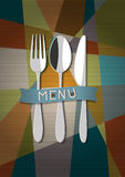 Vector restaurant card menu Royalty Free Stock Images