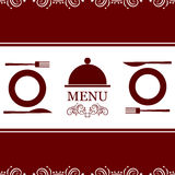 Vector restaurant menu Royalty Free Stock Images