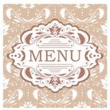 Vector Restaurant menu design template Stock Image
