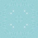 Vector retro achtergrond: behang, naadloos patroon, Royalty-vrije Stock Afbeelding