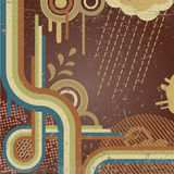 Vector retro background Royalty Free Stock Images