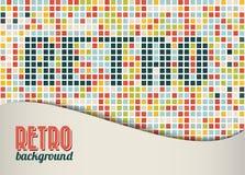 Vector retro background / template Stock Photos