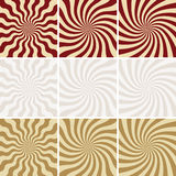vector retro backgrounds Royalty Free Stock Photo