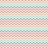 Vector retro chevron zigzag stripes geometric Royalty Free Stock Photography