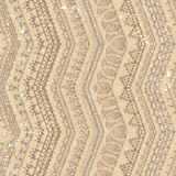 Vector retro crochet seamless pattern. Royalty Free Stock Photography