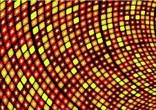 Vector retro de la estrella caliente Fotos de archivo libres de regalías