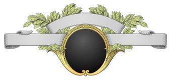 Vector retro del marco Fotografía de archivo libre de regalías