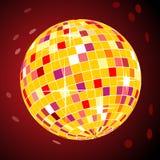 Vector retro disco ball Stock Photos