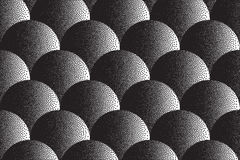 Vector Retro Dotwork Texture Background Royalty Free Stock Photo