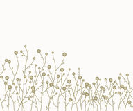 vector retro floral background Royalty Free Stock Images